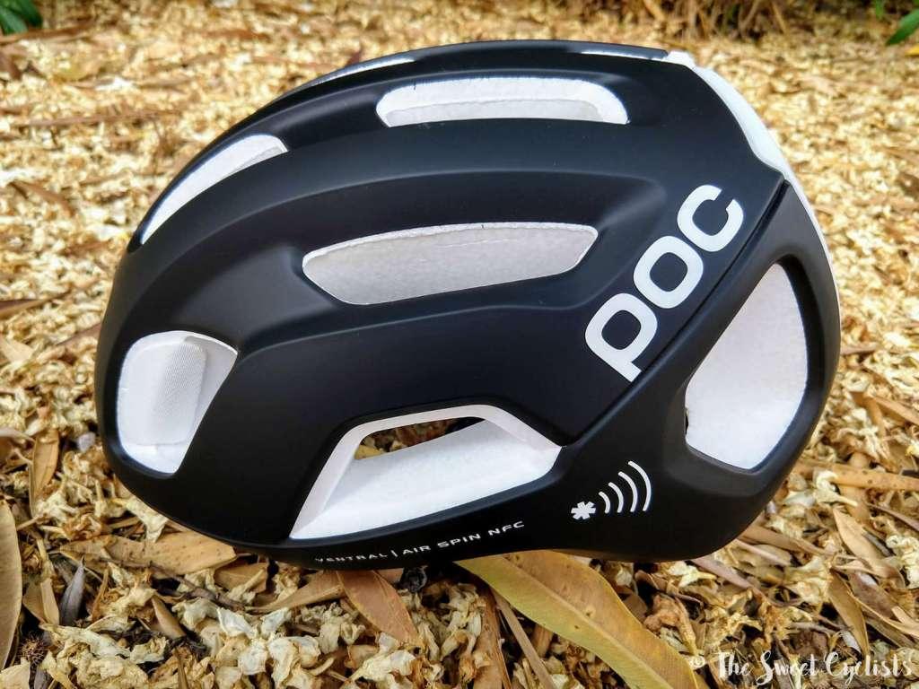 POC Ventral Air SPIN NFC helmet - medical ID