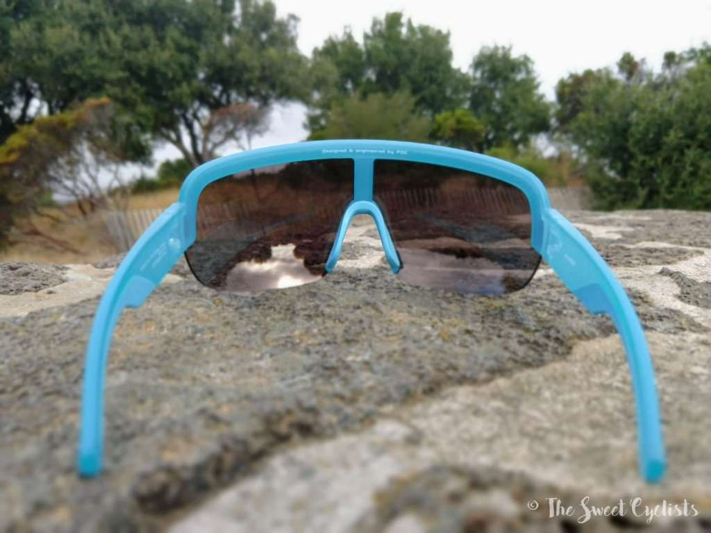 POC AIM sunglasses - lens