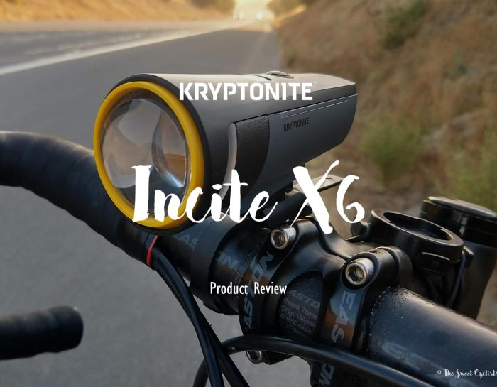 The 60 lux Incite X6 Bike Headlight