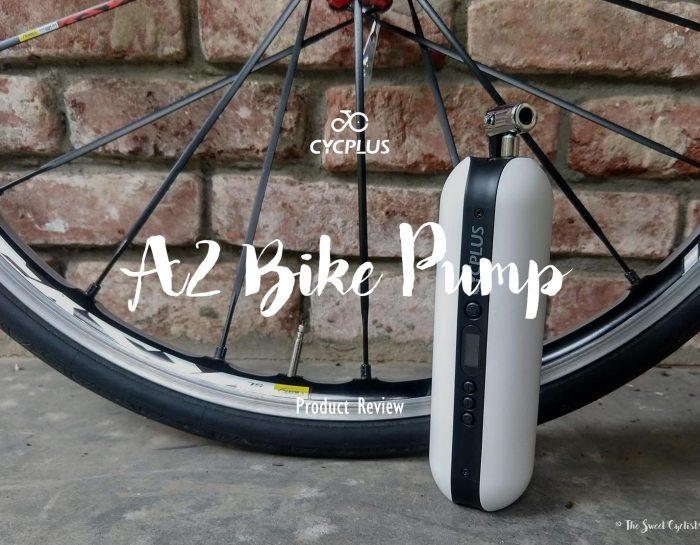 CYCPLUS A2 portable electric tire inflator