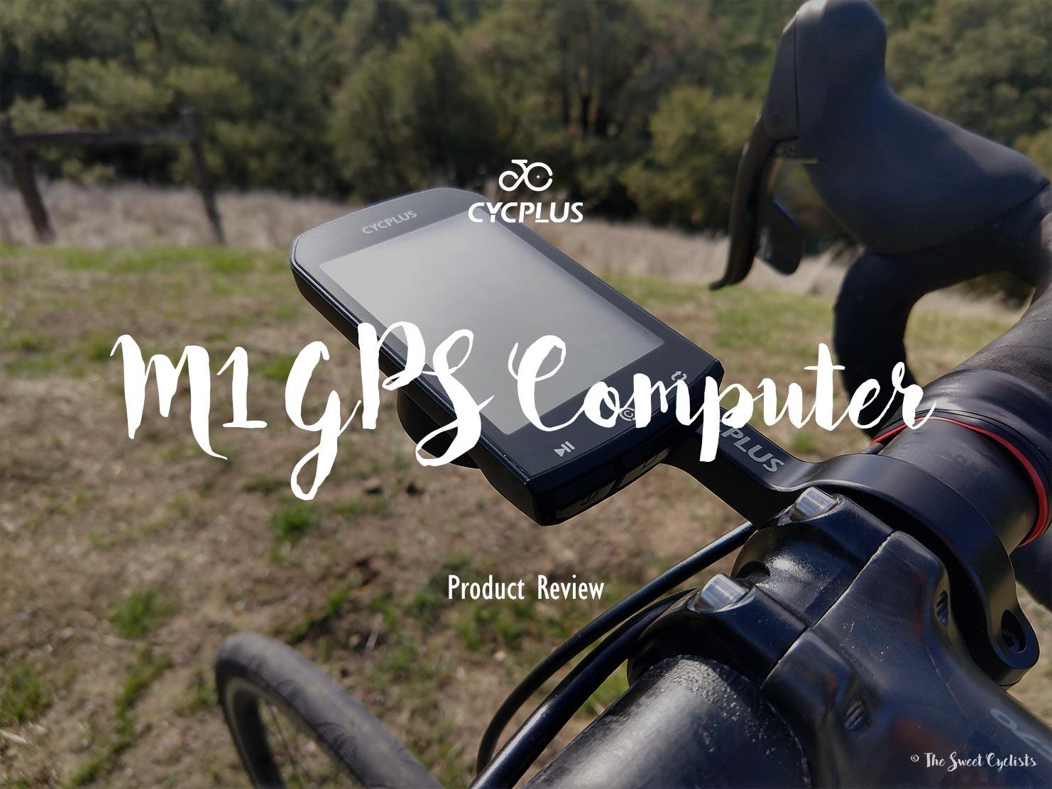 CYCPLUS M1, a $50 GPS Cycling Computer