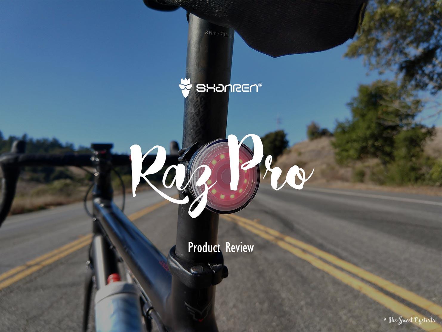 Raz Pro, a high-tech and fully customizable bike taillight