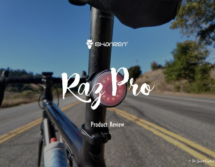 Raz Pro, a high-tech and fully customizable bike taillight