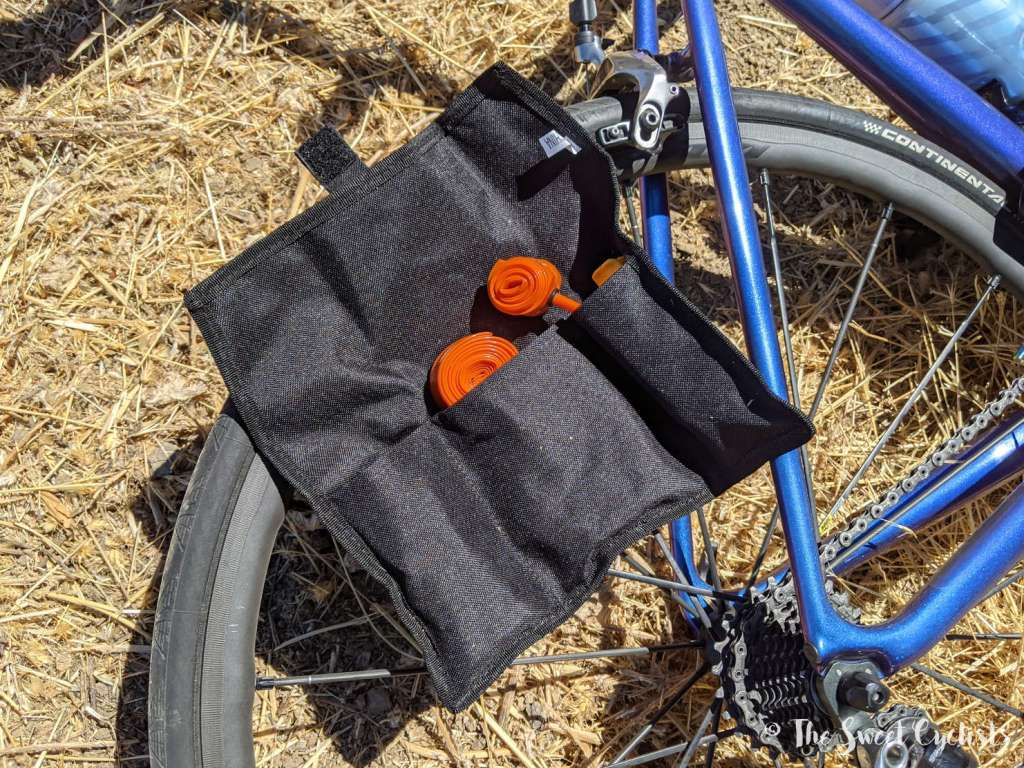 KOM Cycling Saddle Tool Roll - Pockets