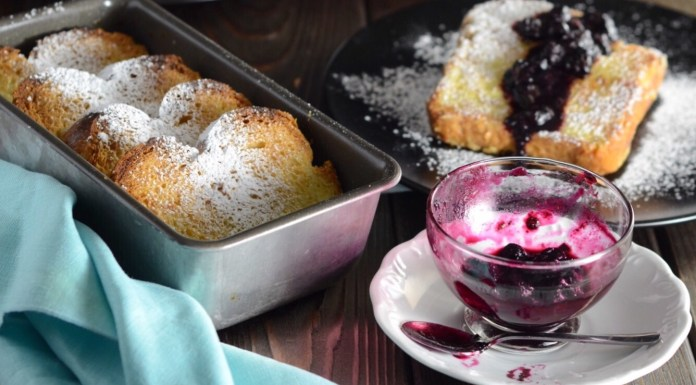 French Toast with Blueberry Compote recipes
