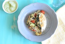 Spinach Feta Stuffed Chicken Breast