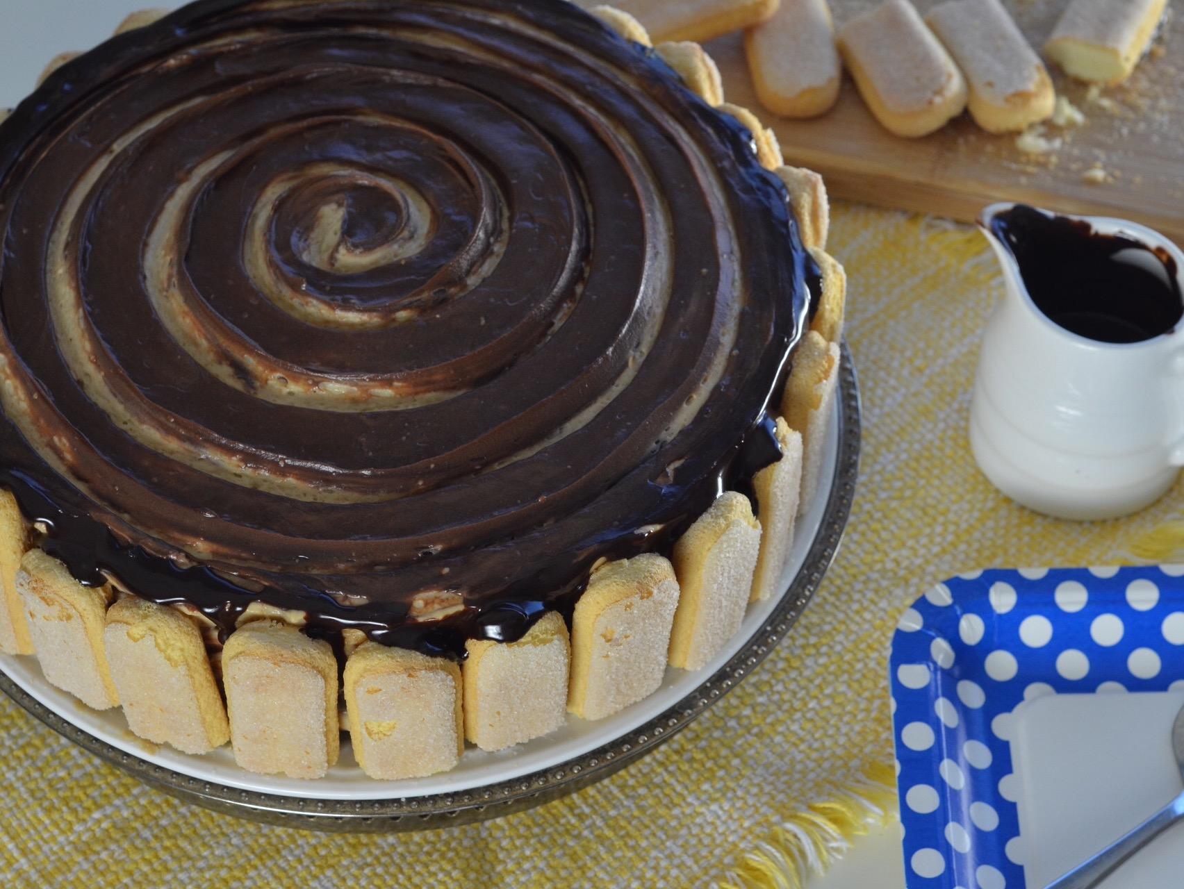 No Bake Mochaccino Icebox Cake