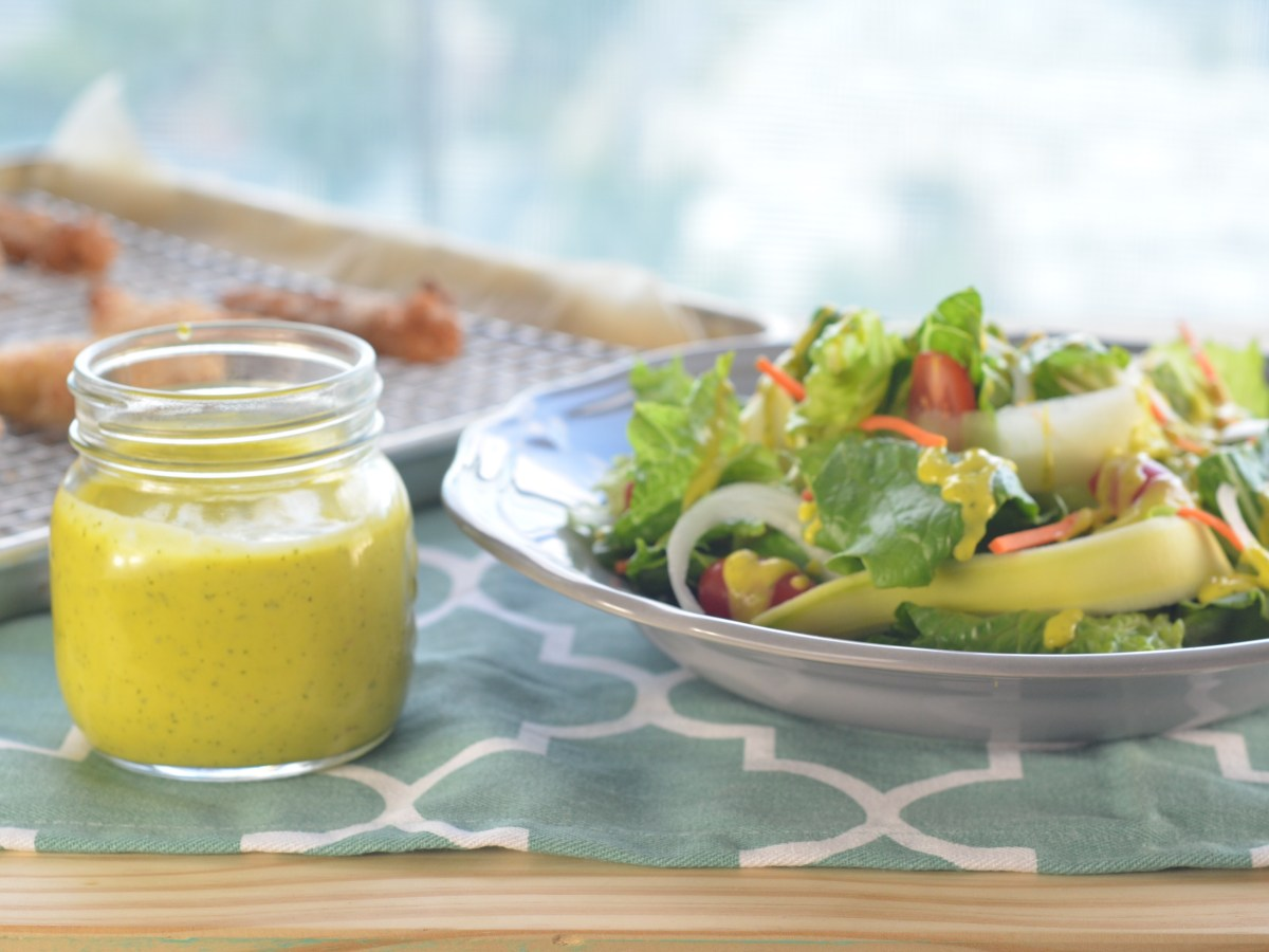 Mango Cilantro Dressing Recipe