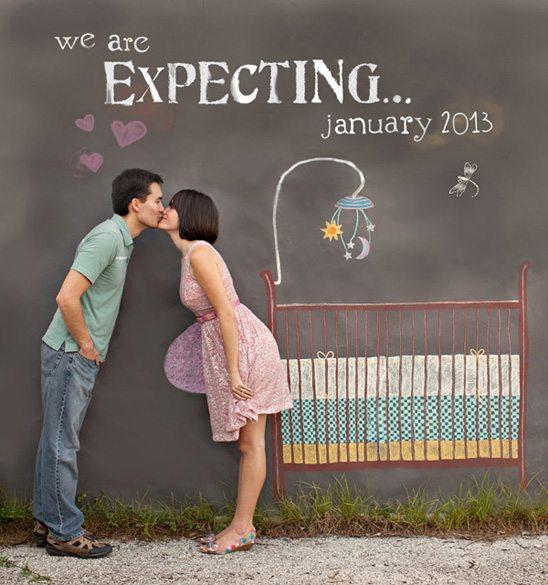 Pregnancy Announcement Ideas How To DIY A Photostrip