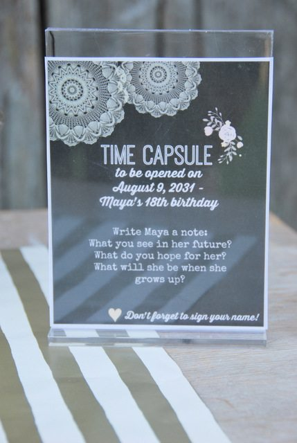How To Make A Birthday Time Capsule The Sweetest Digs