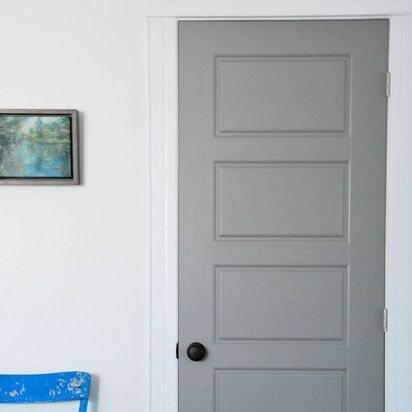 Painting Interior Doors Gray How I Did It & the DIY files: painting a screen door - the sweetest digs