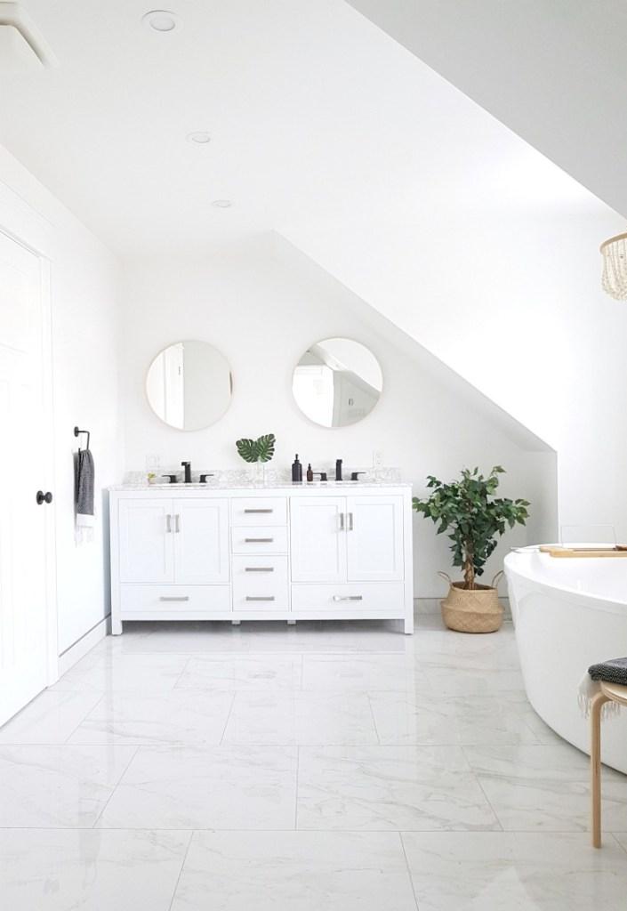 Best White Paint Colors For Bathroom Walls