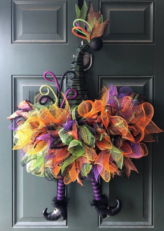 Witch Hat Wreath