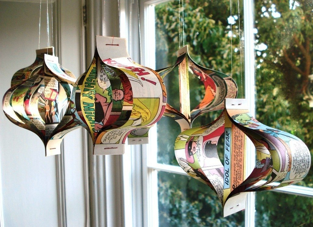 Paper Garlands Ornaments By Bookity The Sweetest Occasion