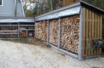 Best DIY outdoor Firewood Rack and Storage Ideas for 2018