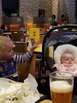 Aurora and Baby Ella