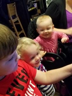 Cameron, Aurora and Kayleigh
