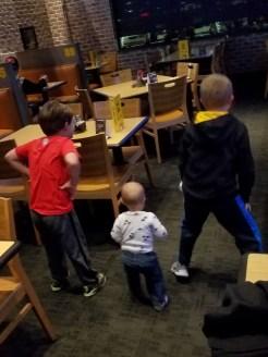 The boys dancing!!