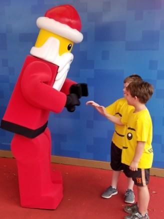 Having some fun with Santa