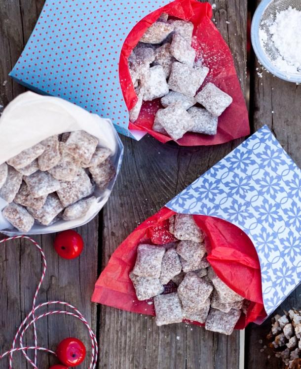 Regalos comestibles para Navidad - Muddy Buddies