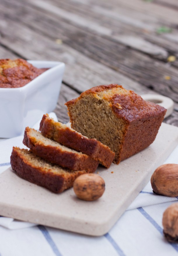 receta sencilla para pan de platano