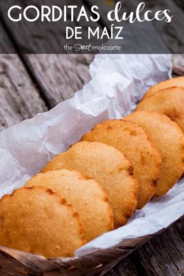 Aprende a hacer estas deliciosas Gorditas Dulces de Maíz Infladas que son muy típicas en el norte de México. La receta es muy fácil y puedes comerlas solitas o hasta para acompañar algún platillo salado.
