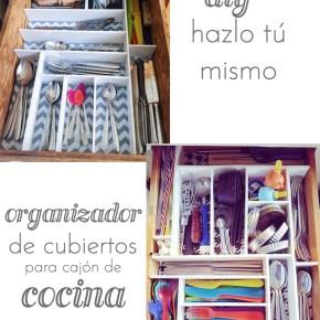 DIY- ORGANIZADOR DE CUBIERTOS PARA CAJON DE COCINA
