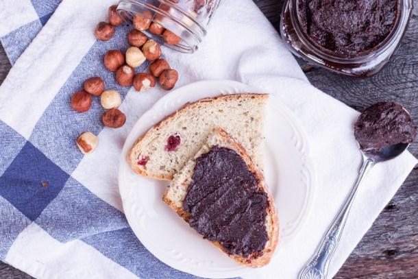 Crema de Avellanas Tipo Nutella Saludable