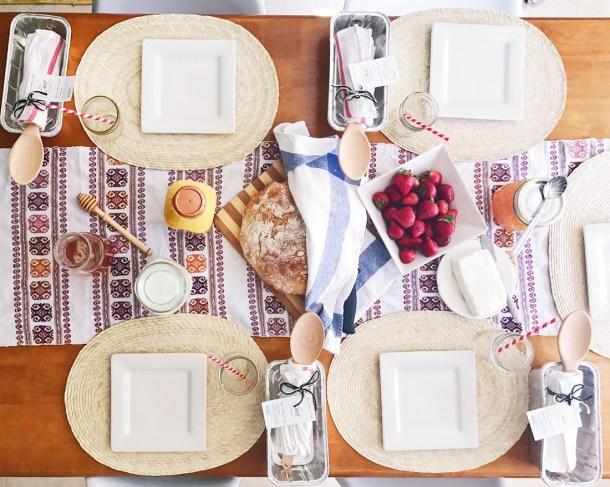 Desayuno del Manos a la Masa Workshop: Taller de Panadería Casera