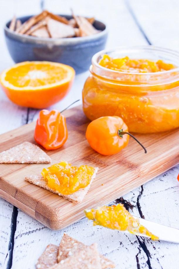 Receta para hacer Mermelada de Naranja con Habanero, súper fácil y deliciosa