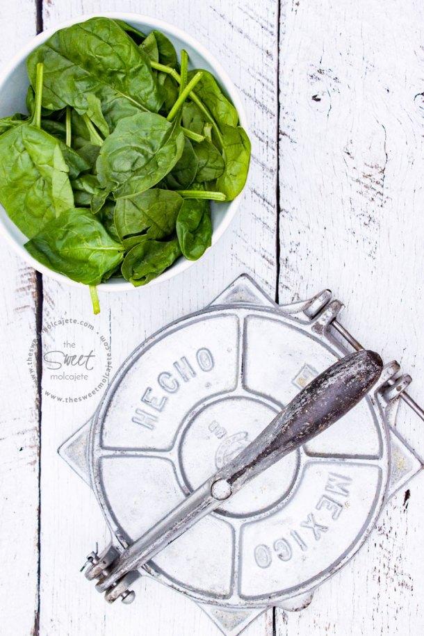 Estas Tortillas Verdes de Espinacas son todo lo que necesitas para darle más color y un boost nutritivo a tus comidas.