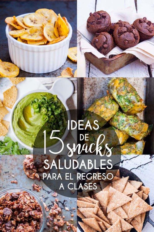 Imagen de portada de Selcción de 15 ideas de snacks saludables para el regreso a clases