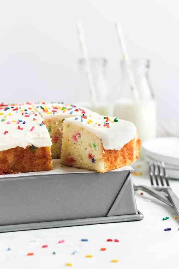 Funfetti Snack Cake -3