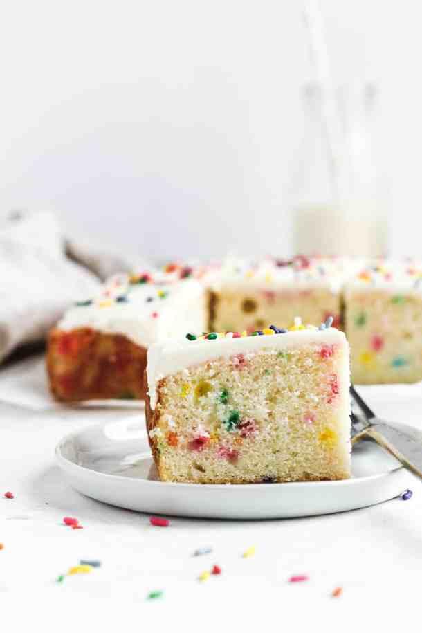 Funfetti Snack Cake-5