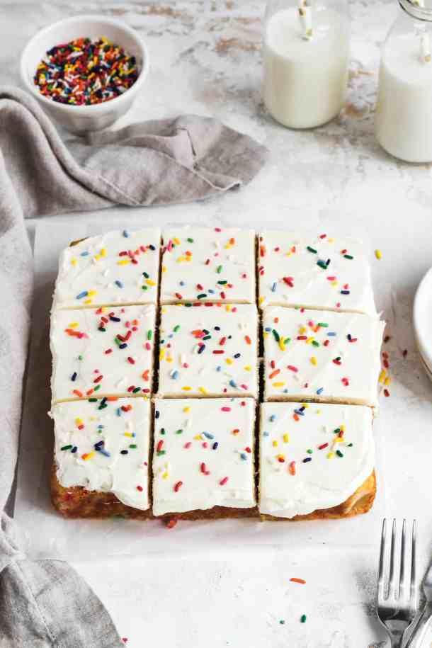 Funfetti Snack Cake-6