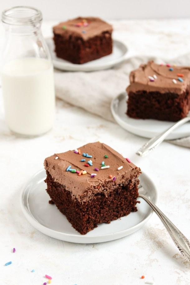 Chocolate Sheet Cake-7