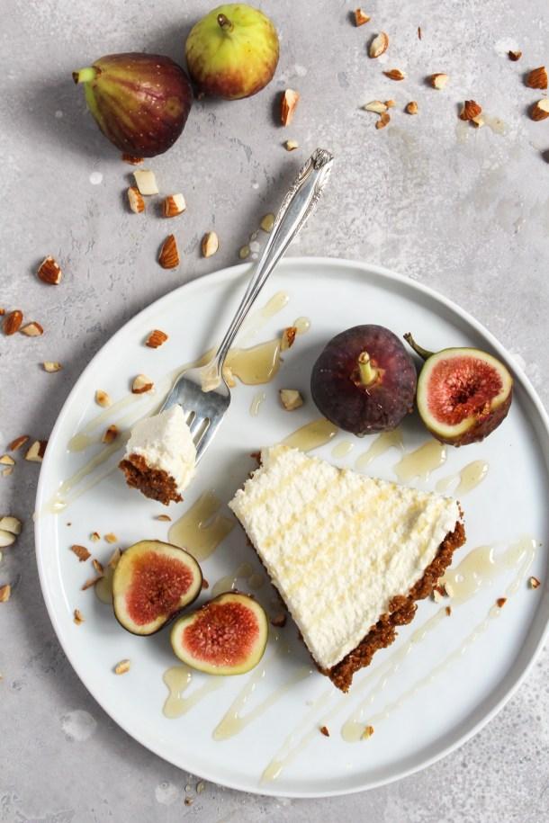 Honey Mascarpone Fig Tart-11