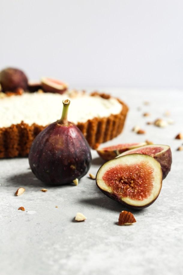 Honey Mascarpone Fig Tart-5