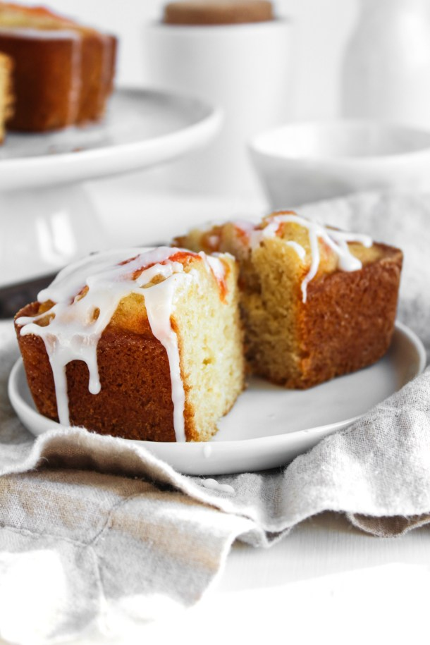 Honey Grapefruit Loaves-8