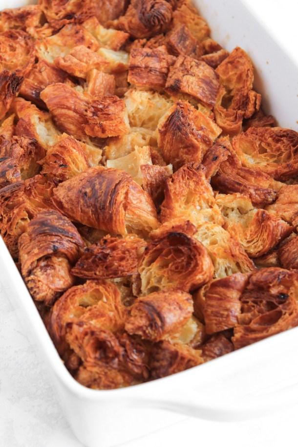 Croissant Bread Pudding-1