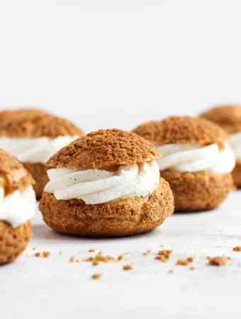 Vanilla Bean Cream Puffs-3