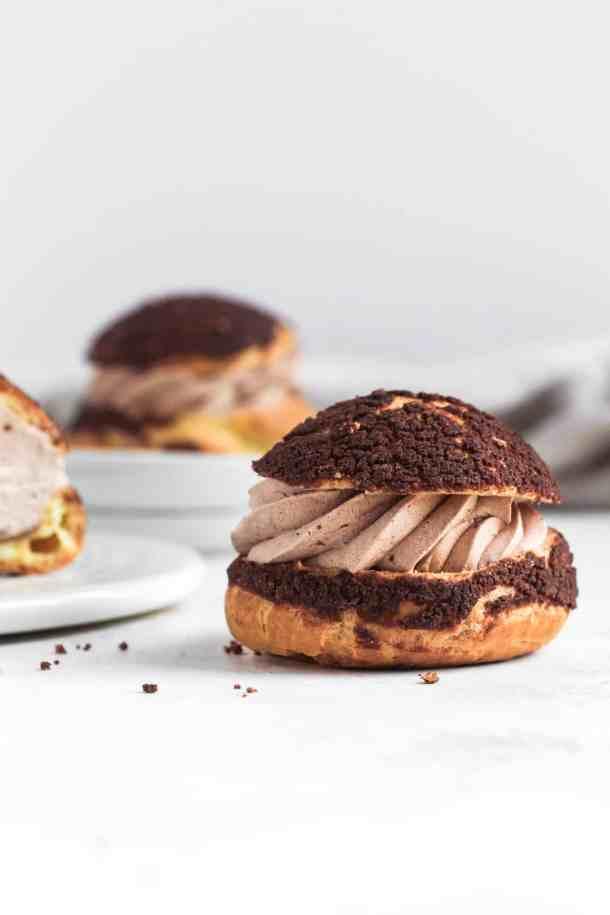 Nutella Choux au Craquelin-5