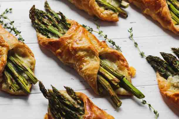 Asparagus Puff Pastry-2