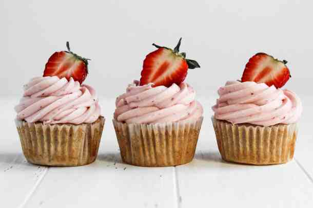 Strawberry Cupcakes-5
