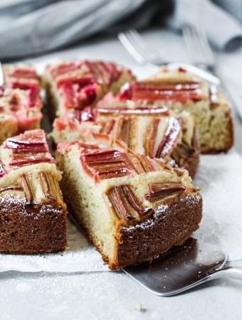 Rhubarb Cake-1