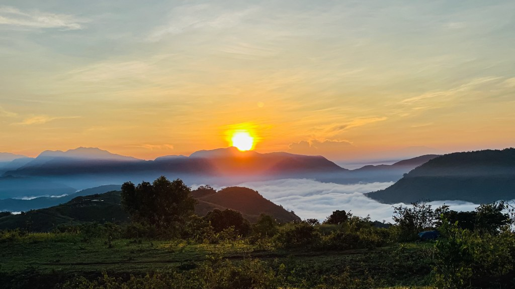 Ridges Clouds Nature Camp Tanay Rizal