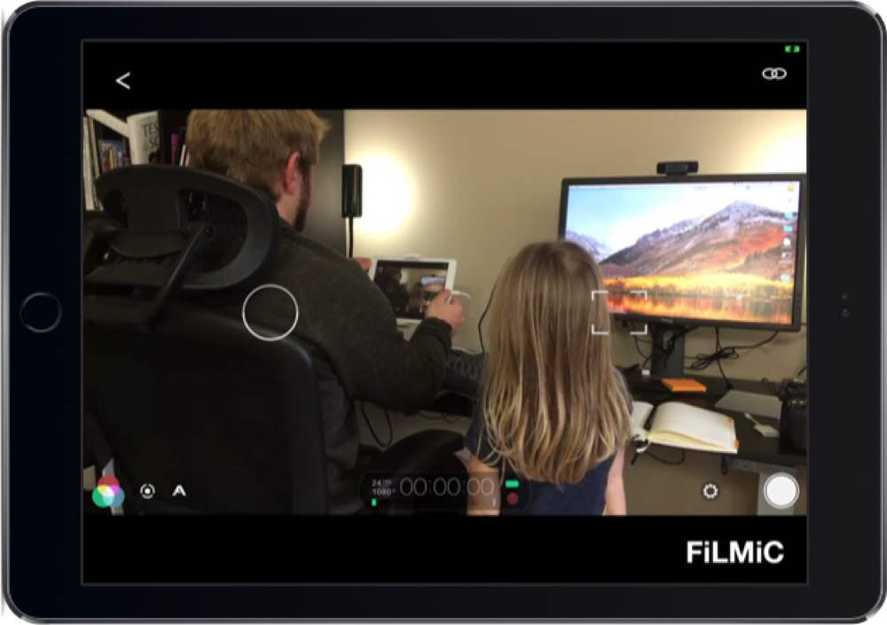 Viewing the FiLMiC preview from another device