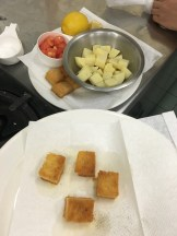 My croutons!! So good