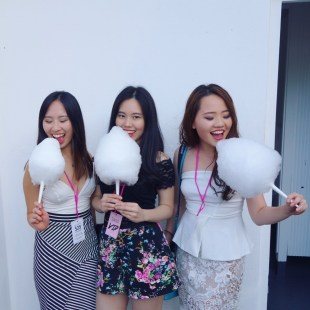 Cherry, me and Eliza on Sugar High