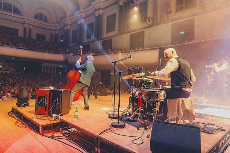 The Swing Cats performing at the National Concert Hall